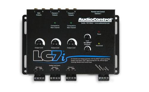 AudioControl 6 Channel Line Output Converter with Accubass LC7i