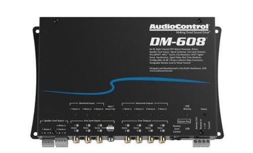 AudioControl Premium 6 Input 8 Output DSP Matrix Processor DM-608