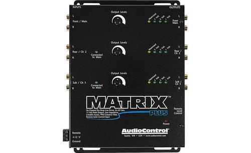 AudioControl 6 Channel Line Driver with Optional Level Controller - Matrix Plus