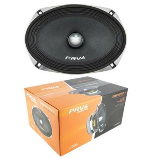 PRV Audio 69MR500PHP-4 500W 4 Ohm Midrange Midbass Loud Car Audio Speaker