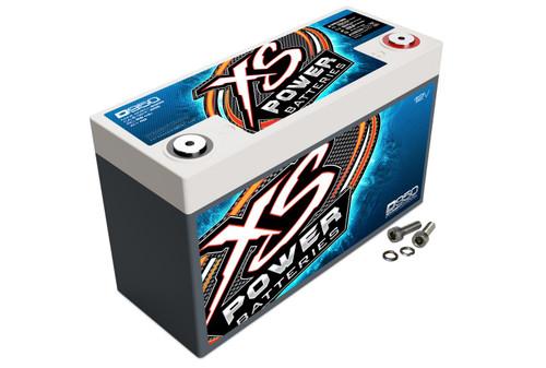 XS Power D950 12V AGM Battery, Max Amps 2,100A, CA: 605, Ah: 40, 1000W/2100W