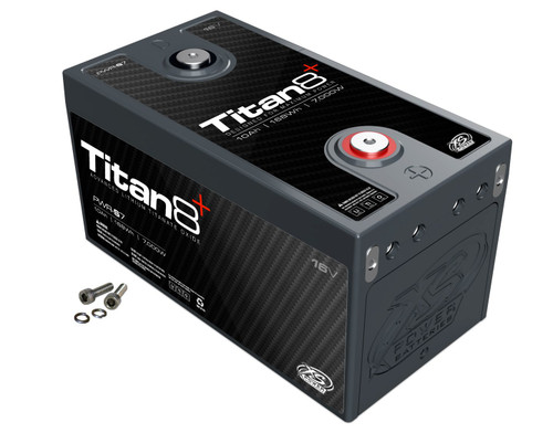 XS Power PWR-S7 16v Lithium Titan8 Battery Car Audio