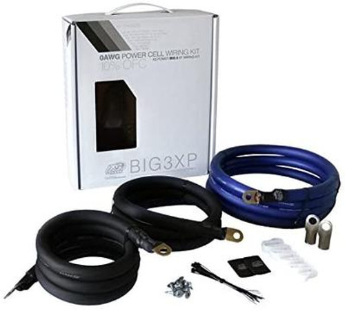 XS Power 250 Amp Big 3 XP FLEX Wiring Upgrade Kit 1/0 AWG BIG3XP
