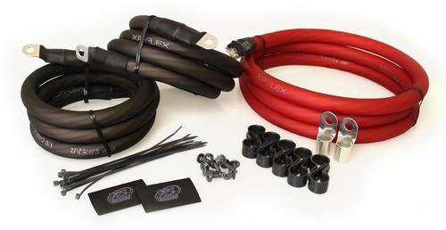 XS Power 250A XP FLEX Big 3 Upgrade Kit 1/0 AWG BIG3RD