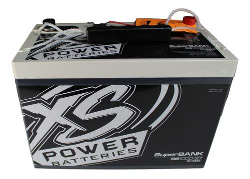XS Power 8000W 12V Super Capacitor Bank 1,000 Farad Group 27 SB1000-27