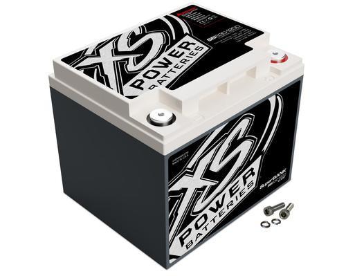 XS Power 12V Super Capacitor Bank 4000W 630 Farad 16Wh 15500 Amps SB630-1200