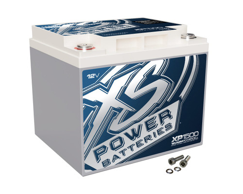 XS Power 12V Compact Pro Car Audio Battery AGM 47 Amp Hours XP1500