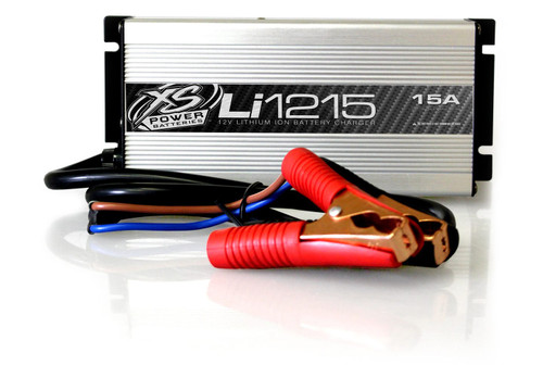 XS Power LI1215 12V High Frequency Lithium Ion Battery IntelliCHARGER, 15A