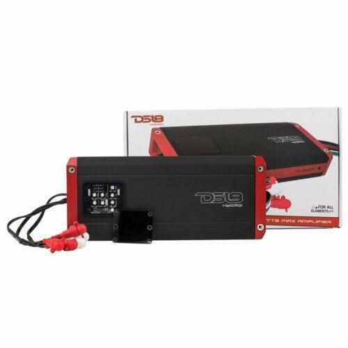 Marine Amplifier 5 channel Waterproof 1600 Watts IPX6 DS18 NXL800.5D