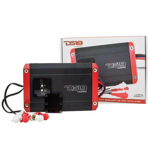 DS18 Hydro NXL200.2D Digital Marine 2-Channel Amplifier 600 Watts Max IPX6 Waterproof