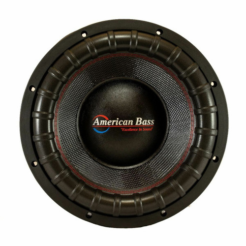 """American Bass VFL Comp Signature Series 18"""" SPL Competition Subwoofer, 5000 Watts RMS, 10000 Watts Max, Dual Voice Coil"""