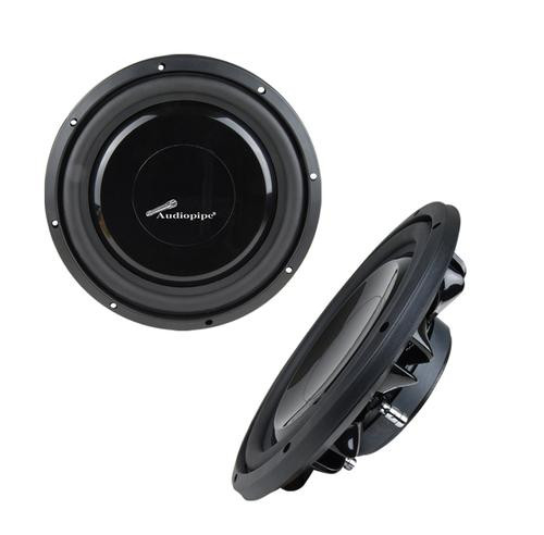 """Audiopipe 12"""" Shallow Mount Woofer 500W Max 4 Ohm DVC TS-FA120"""