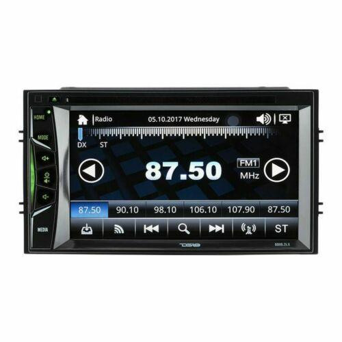 """DS18 Double Din 6.2"""" Linux Touch Screen Bluetooth DVD/MP3/CD Player DDX6LX"""