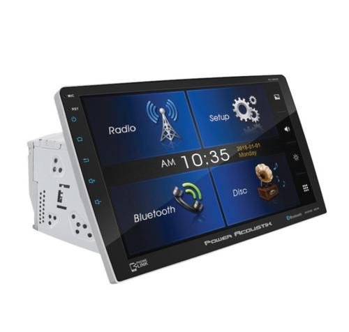 """Power Acoustik 10.6"""" 2 DIN Touch Screen DVD, CD/MP3 Car Stereo w/ Phone Link"""