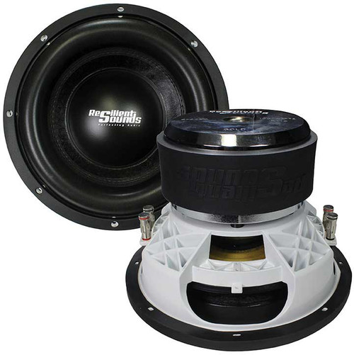 """Resilient Sounds Gold 12, 1000W RMS/2000W Max 12"""" Subwoofer, Dual 4 Ohm"""
