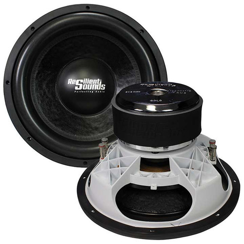 """Resilient Sounds Gold 15, 1000W RMS, 2000W Max, 15"""" Subwoofer, Dual 4 Ohm"""