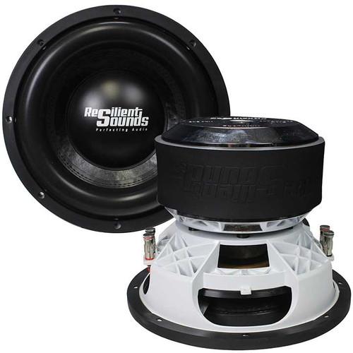 "Resilient Sounds Platinum 12"" Competition Subwoofer, 2000W RMS, 4000W Max, Dual 1 Ohm Voice Coil"