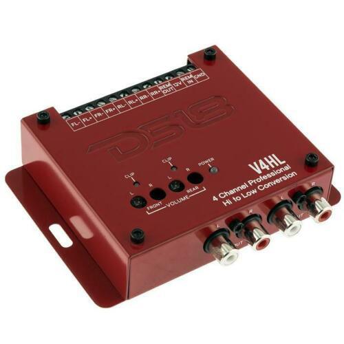 DS18 V4HL 4 Ch Line Out Converter High-Level Speaker Signal Low-Level