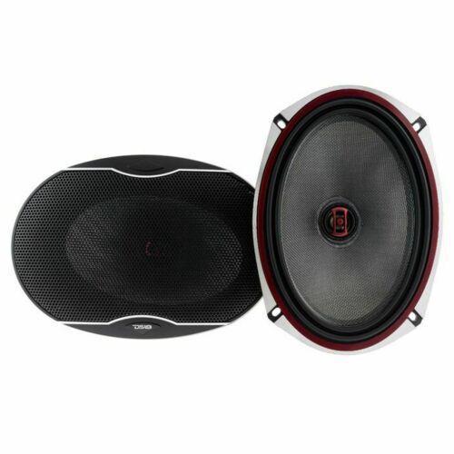 """DS18 EXL 6x9"""" 2 way Coaxial Door Speakers 1120 Watts Fiber Glass 3 Ohm Pair"""