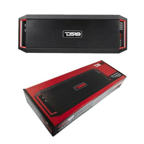 DS18 GEN-X3700.4 4 Channel Full Range Amplifier Class AB Amp 3700 Watts Max