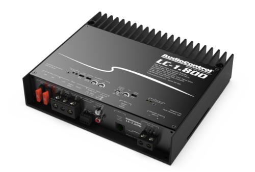 AudioControl LC-1.800 Monoblock 800 Watt Class D Subwoofer Amplifier w/ Accubass