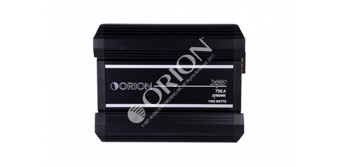 Orion XTR750.4, 4 Channel Amplifier, 750 Watts RMS, Built in Crossover