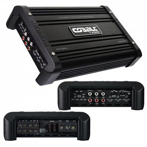 Orion CBT2500.4 4 Channel Class AB Amplifier 2500 Watts