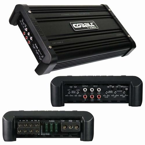 ORION CBT3500.4 4-CHANNEL CLASS AB CAR AMPLIFIER 3500W MAX CAR AUDIO
