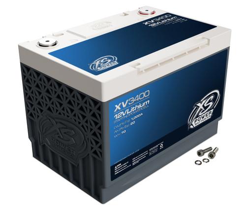 XS Power 12V 1500 Watts 1335 Max Amps Lithium Titanate Starting Battery XV3400