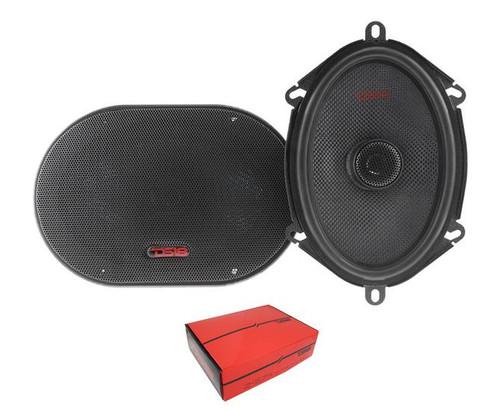 """DS18 Z-574 5x7"""" Coaxial Speaker 4Ohm 150W 2 Way Car Audio"""