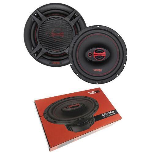 """GEN-X6.5 DS18 6.5"""" 3-way Car Door Speakers 300 Watts 4 Ohm Coaxial Speakers"""