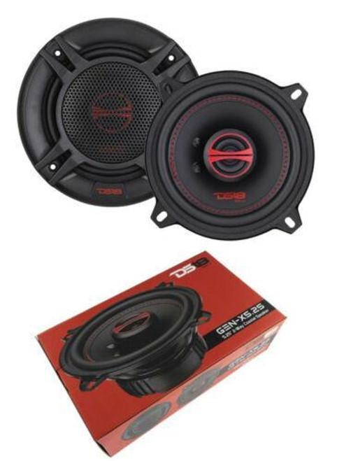 """GEN-X5.25 DS18 5.25"""" 2-way Car Door Speakers 270 Watts 4 Ohm Coaxial Speakers"""