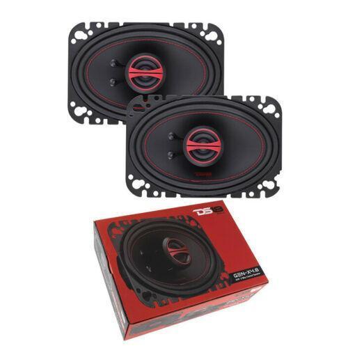 "DS18 4x6"" 2-Way Coaxial Speaker 270 Watts Dome Tweeter 4 ohm GEN-X4.6 GEN Series"