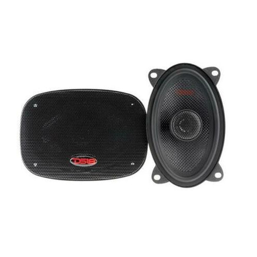"""DS18 Z-464 4x6"""" 2 Way Coaxial Door Speakers 240W 4 Ohm Fiberglass Cone"""