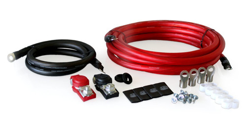 XS Power RK2GA-1, 2AWG, Light-Weight Racing Single Battery Cable Kit