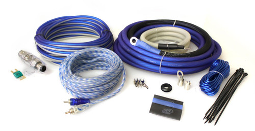 XS Power Amp Kit, XS Flex 4 AWG, 100% OFC, Power Cable, Speaker Cable, Signal and Remote