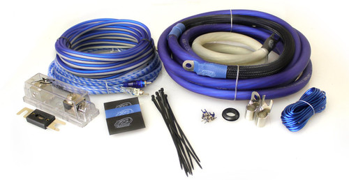 XS Power Amp Kit, Amp Kit, XS Flex 1/0 AWG, 100% OFC, Power Cable, Speaker Cable, Signal and Remote