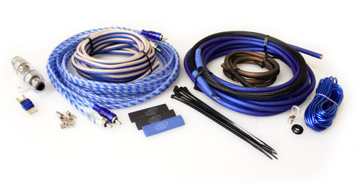 XS Power Amp Kit, XP Flex 8 AWG, Power Cable, Speaker Cable, Signal and Remote