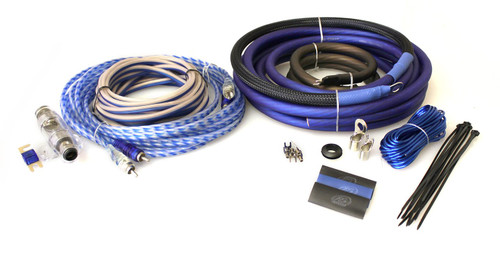 XS Power Amp Kit, XP Flex 4 AWG, Power Cable, Speaker Cable, Signal and Remote