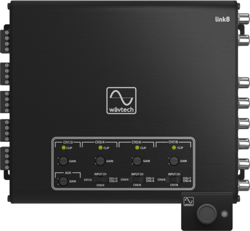 Wavtech link8 Active 8-channel Line Output Converter w/ Signal Summing