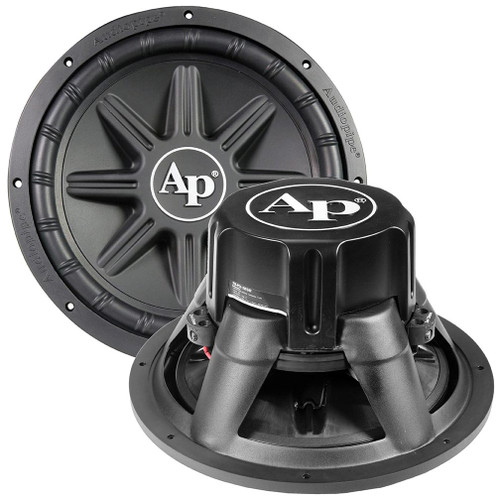 """Audiopipe 12"""" Woofer 800W Max 4Ohm 60oz Magnet TS-PX-1250  TS-PX-1250 Edge Extension Technology PP Cone Woofer"""