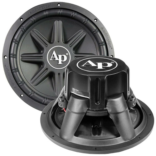 """Audiopipe 15"""" Woofer 500W RMS/1000W Max Dual 4 Ohm Voice Coil TS-PX-1550  TS-PX-1550 Edge Extension Technology PP Cone Woofer"""