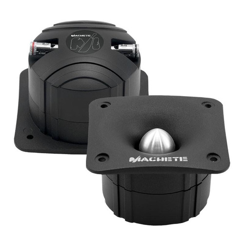 Deaf Bonce Machete MT-30 Black 80 Watts 4-Ohms Super Bullet Tweeter High frequency speaker of Machete series Machete MT-30 is developed for those, who like to listen to the loud and high quality sound This tweeter is right for use in both 2-way and three-way component systems MT-30 is the best choice in its price level.