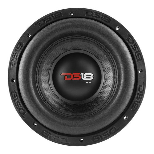 """8"""" Subwoofer 1200 Watts Dual 2 Ohm DVC DS18 EXL-X8.2D  Model EXL-X8.2D Size 8"""" RMS Power 600W Each Subwoofer MAX Power 1200W Each Subwoofer Impedance 2 + 2 Ohm Voice Coil Size 2.5"""" Magnet Weight 130oz Frequency Response 38Hz - 1KHz  Mounting Cut-Out 7.36"""" Mounting Depth 5.51"""" Overall Diameter 8.58"""" Hole To Hole Diameter: 7.9"""""""
