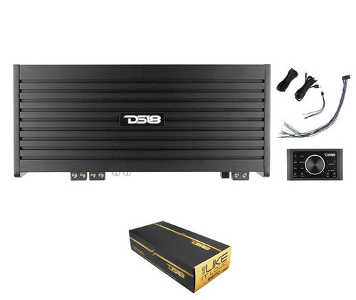 DS18 DSP8.6iA 6 Channel Amplifier w/ 8-Channel Digital Sound Processor
