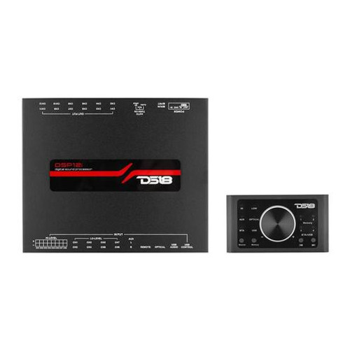 DS18 DSP12i 8-Channel In and 12-Channel Out Digital Sound Processor w/ Knob