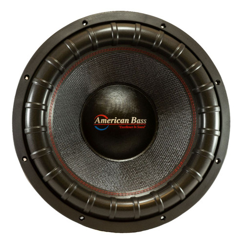 "American Bass Godfather 18"" Competition Subwoofer, D1/D2 Voice Coil, 3000 Watts RMS/6000 Watts Max"