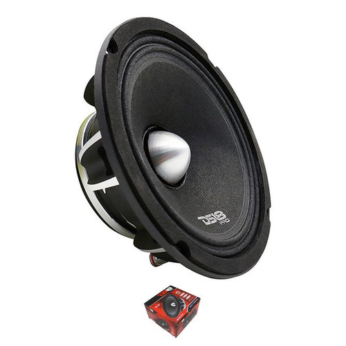 """DS18 PRO-FR6NEO 6.5"""" Midrange Car Speakers Mid Range 500 Watt Neodymium 4 Ohm  Introducing the DS18 PRO-FR6NEO neodymium 6.5"""" speaker for those seeking simple perfection. These neodymium magnets have the strongest permanent magnets of all commercially available speakers. Therefore, the PRO-FR6NEO provides a much higher magnetic flux density in the air gap, which can generate a much greater action force in the voice coil. Lastly the PRO-FR6NEO neodymium can reach a spectacular 12.5KHz, which reproduce some of the highest, crisp sounds, unlike any other speaker."""