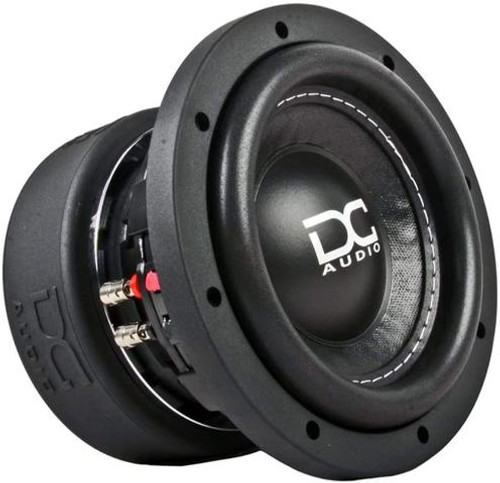"""DC Audio DC-M3 6.5"""" 600 Watt Dual 2 Ohm Voice Coil Subwoofer  As newer cars and trucks with less and less space are being designed and released, a demand for a smaller subwoofer with high output is needed to supply the demand for """"Bass in a small space"""" application. The DC Audio 6.5 inch subwoofer is just that. Designed to work in extremely small box volumes """"0.3 cubic feet each ported"""" and give you the maximum amount of output. These little monsters have you covered on the low frequency spectrum.  This listing includes: (1) Subwoofer  Features: - Extremely rigid non-pressed paper cone assembly - High Roll Stitched Multilayered reinforced polymer foam surround - Rigid propylene dust cover with White DC logo - Laminated Nomex Spiders - Sewn flat heavy duty tinsel lead wire - Die-Cast aluminum black frame - FEA analyzed and optimized motor assembly - Fully CNC machined - Rubber mounting gasket and custom tooled motor boot. - DVC 2.0"""" Copper voice coil."""
