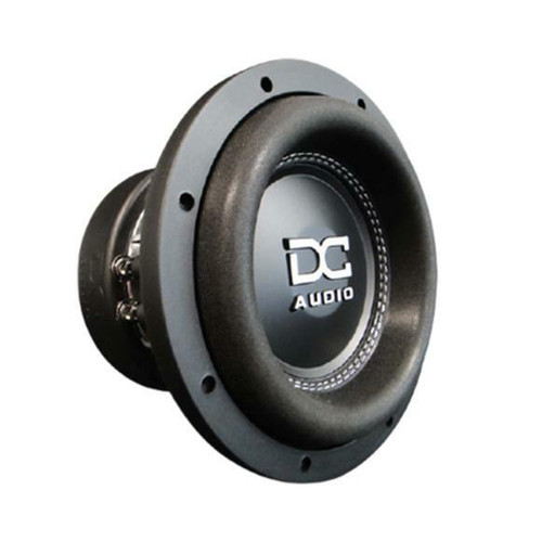 """DC Audio DC-M3 8"""" 1200 Watt Dual 2 Ohm Voice Coil Subwoofer  The m3 8 is an 8"""" long X-Max subwoofer. Long hours in the R&D department is what it took to develop the newest version of our 8"""" subwoofer. We designed a tall roll-stitched surround, oversized spiders, and a tall cast frame that allows for extreme amounts of cone travel. All of these newly designed parts allow for lower frequency reproduction. The bolted-down spaced spider design keeps it all linear. The m3 8 uses a gap-cooled design to allow the 2"""" copper coil to thermally take more power than other 2"""" coil motors with the traditional pole venting.  This Listing Includes: (1) Subwoofer  Features: - Extremely rigid non-pressed paper cone assembly - High Roll Stitched Multilayered reinforced polymer foam surround - Rigid propylene dust cover with White DC logo - Bolted down & spaced Linear roll spiders - Sewn flat heavy-duty tinsel lead wire - Custom Cast aluminum black frame - FEA analyzed and optimized motor assembly - Fully CNC machined - Rubber mounting gasket and custom tooled motor boot. - DVC 2.0"""" Copper voice coil."""